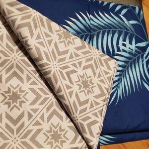 Tropical Duvet set, Queen with 2 pillow shams
